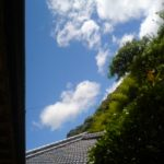 台風4号(マンニィ)台風一過の空!