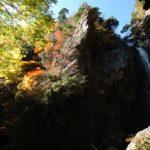 大荒の滝に紅葉を見に行ってきました